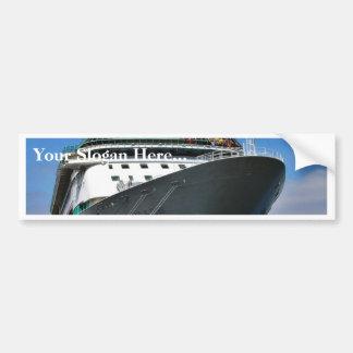 Cruise Ship Bumper Sticker