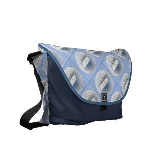 Cruise Ship Cameo Blue Courier Bag