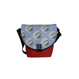 Cruise Ship Cameo Red Mini Courier Bags