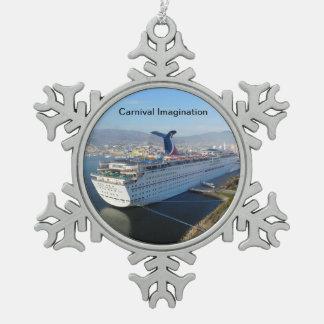 Cruise Ship Christmas Ornament