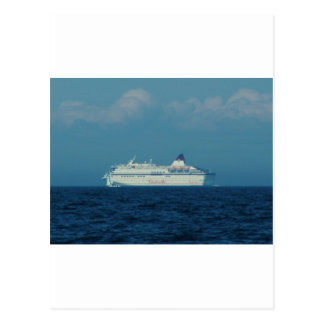 Cruise Ship Cinderella Postcard