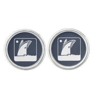 Cruise Ship Cuff Links