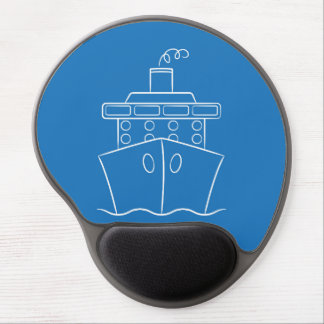 Cruise ship gel mouse pad