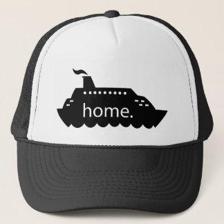 Cruise Ship Home Trucker Hat