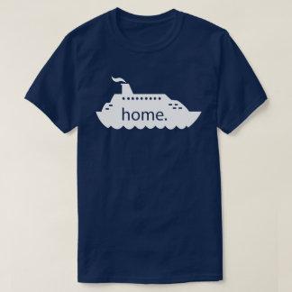 Cruise Ship Home - white T-Shirt