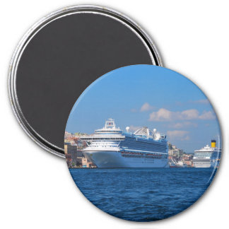 Cruise ship in Istanbul Magnet