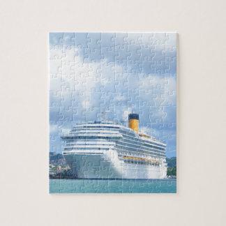 Cruise ship jigsaw puzzle