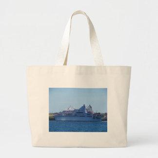 Cruise ship Le Diamant. Bags