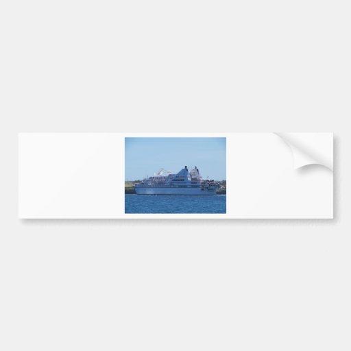Cruise ship Le Diamant. Bumper Sticker