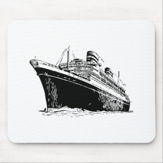 Cruise Ship Mousepads
