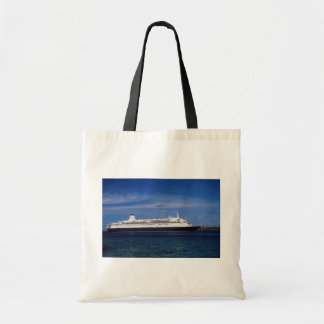 Cruise ship, Nassau, Bahamas Tote Bags