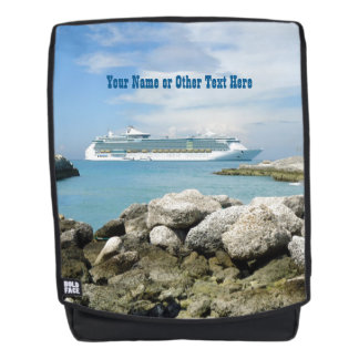 Cruise Ship Offshore at CocoCay Personalized