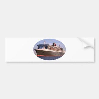 Cruise ship oval bumper stickers