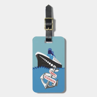 Cruise Ship Personalized Travel Luggage Tag