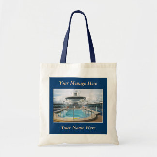 Cruise ship Pool Canvas Bag