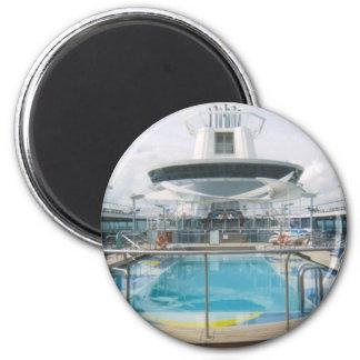 Cruise Ship Pool Magnet
