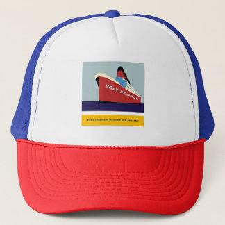 CRUISE SHIP  PORT CHALMERS DUNEDIN NEW ZEALAND TRUCKER HAT