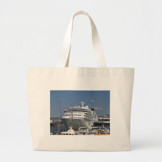 Cruise Ship Seabourn Odyssey Tote Bags