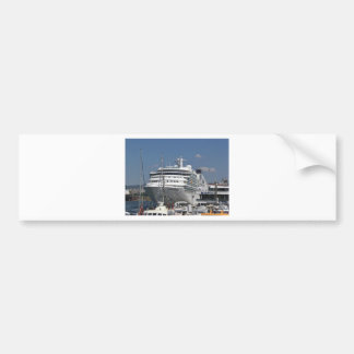 Cruise Ship Seabourn Odyssey Bumper Sticker