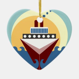Cruise Ship Wedding Personalised Ornament Favour