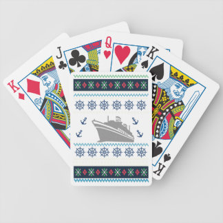 Cruise Ships Bicycle Playing Cards