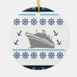 Cruise Ships Ceramic Ornament