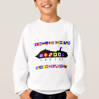 Cruise Signal Flags Sweatshirt