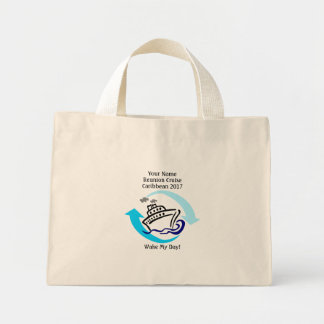 Cruise Themed Tiny Tote Bag