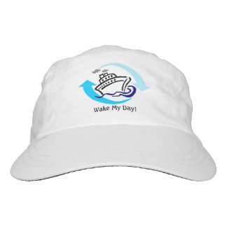 Cruise Themed Woven Performance Hat