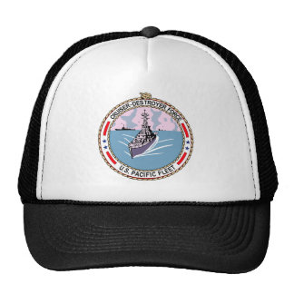 Cruiser Destroyer Force US Pacific Fleet Military Mesh Hats