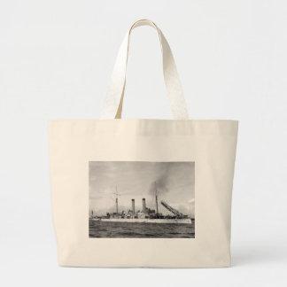 Cruiser U.S.S. Atlanta, 1903 Jumbo Tote Bag