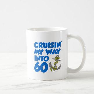 Cruisin' My Way Into 60 Mug
