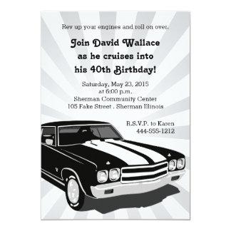 Cruisin Party Invitation