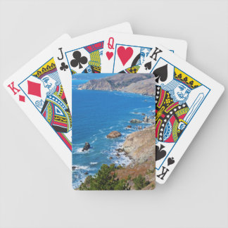 Cruisin The Coast Bicycle Playing Cards