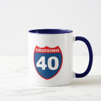 Cruising at 40 mug