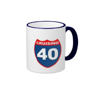 Cruising at 40 mugs