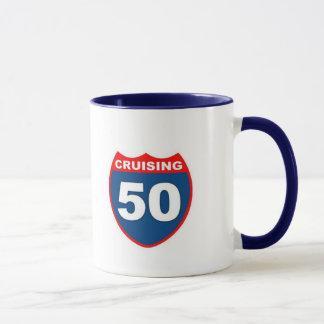 Cruising at 50 mug