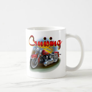 Cruising bike coffee mug