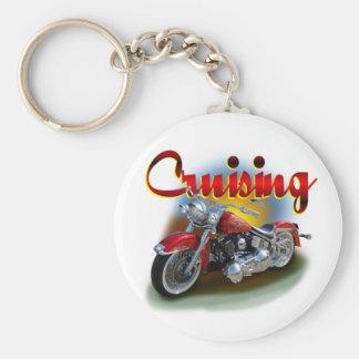 Cruising bike key ring
