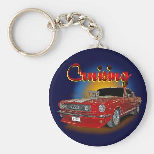 Cruising classic key chain