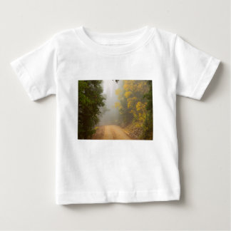 Cruising Into Autumn Fog Baby T-Shirt