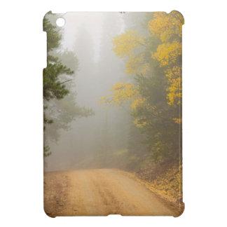 Cruising Into Autumn Fog iPad Mini Cases