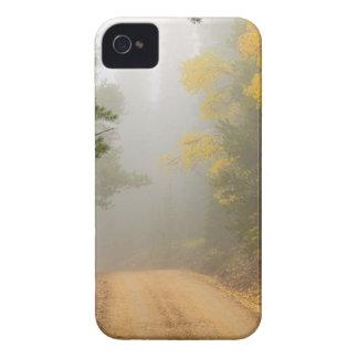 Cruising Into Autumn Fog iPhone 4 Case