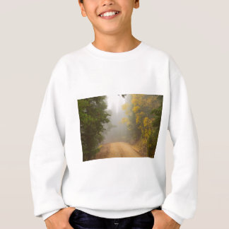 Cruising Into Autumn Fog Sweatshirt