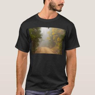 Cruising Into Autumn Fog T-Shirt