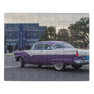 Cruising into the Reilly Arts Center Jigsaw Puzzle