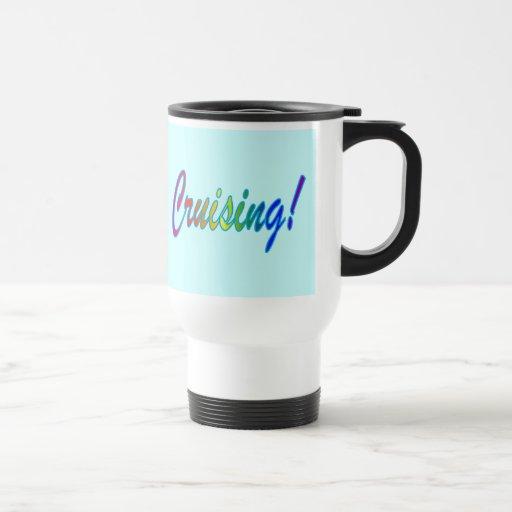 Cruising Multicolor travel mug