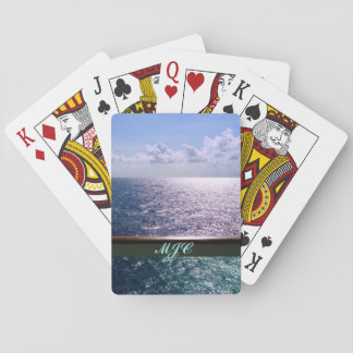 Cruising the Ocean Blue Playing Cards