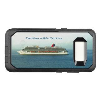 Cruising the Tropics Custom OtterBox Commuter Samsung Galaxy S8 Case