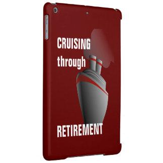 Cruising Through Retirement Dark Red